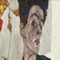 奥地利埃贡·席勒 Egon Schiele-作品展(一)
