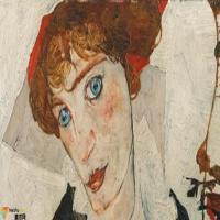奥地利埃贡·席勒 Egon Schiele-作品展(三)