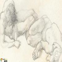 英国画家琼斯Jones-素描展