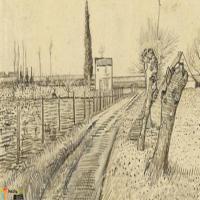 荷兰画家梵高-素描展(一)