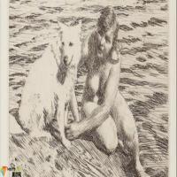 瑞典(画家)安德斯·佐恩AndersZorn-素描展
