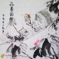 青年实力派画家—王松