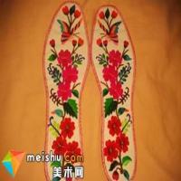 传统刺绣鞋垫:一针一线总关情