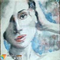 水墨韵味与西画的完美融合--潜力的女性人物画家铃番