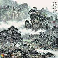 国画精华——胡江笔下山水之灵韵
