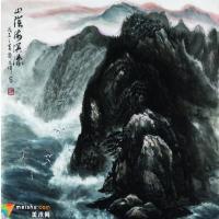 借古开今铸丹青 情真意浓写海洋——郭文伟先生焦墨海洋画述评