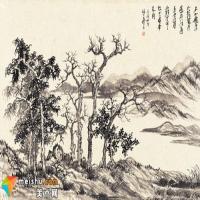 杜鋼梅山水畫
