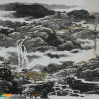 渾厚蒼潤 虛實相生 ——李冠德山水畫藝術