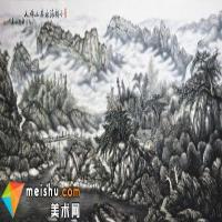 中国著名画家张仕森-外师造化 中得心源