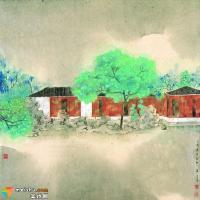 林容生作品:墨与色、工与写、雅与俗兼容