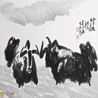 道合乾坤  法自我立 ———论石涛《画谱》与蒋志鑫大写意山水画