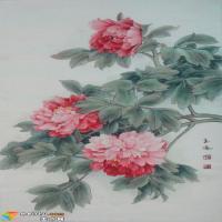 万绿丛中一点红——工笔画家李玉凤作品赏析