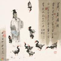 传统和现代交替的坚实步履--谈孔维克中国画的艺术探索