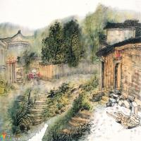 清雅空灵,古韵幽深 ——记中国当代著名画家魏云飞