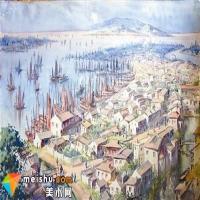 范迪安:中国水彩在艺术质量上就是世界水平
