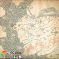 乾隆年间大运河地图现美国大都会艺术博物馆