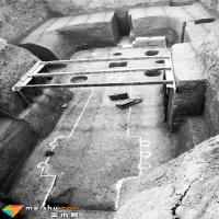洛阳北魏大墓壁画残块:装60个编织袋