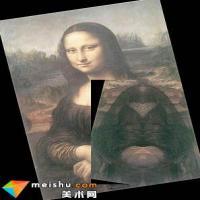 达芬奇画作暗藏玄机 蒙娜丽莎蕴含神秘脸孔