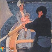印象派女画家卡萨特作品中女性形象赏析