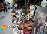 雅典跳蚤市场,折射生活的镜子