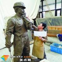 雕塑家龍翔的團隊拿出一絲不茍的精神,塑造浙江驕傲