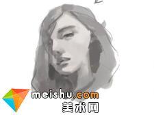 「轻微课」手绘动漫角色人物教程-动漫绘画教程