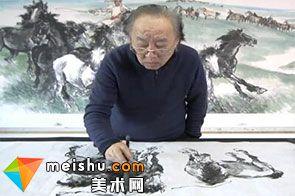 书画家刘怀山:笔精墨妙 笃志前行-艺生