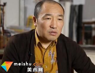 讲述著名画家卢禹舜-中国艺术大家