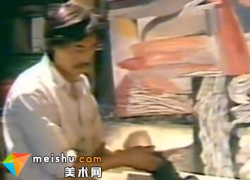 杨树峰85时期伟大的现代艺术家之一