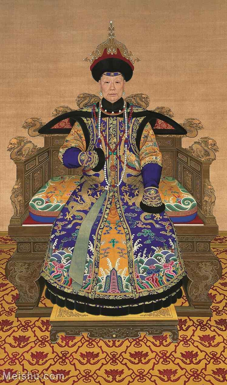 【超顶级】GH6086248古画人物清孝圣宪后六旬像轴立轴图片-492M-8711X14740_55380448.jpg