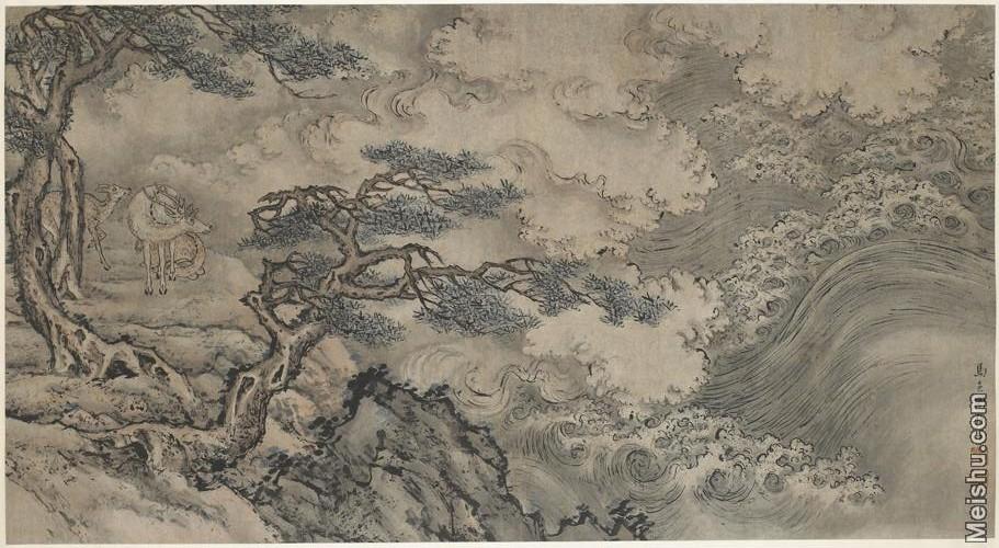 【欣赏级】GH6105000古画镜片Ma Fu图片-16M-3199X1755.jpg
