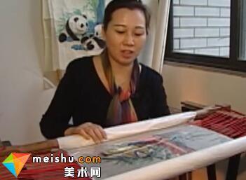 「刺绣」蜀绣-中华绝技