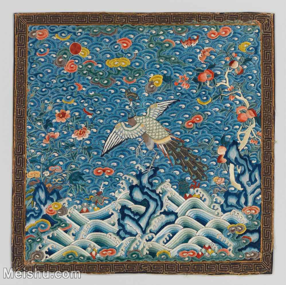 【印刷级】GH6063360古画古代官服刺绣图案孔雀册页图片-42M-3849X3840_13762205.jpg