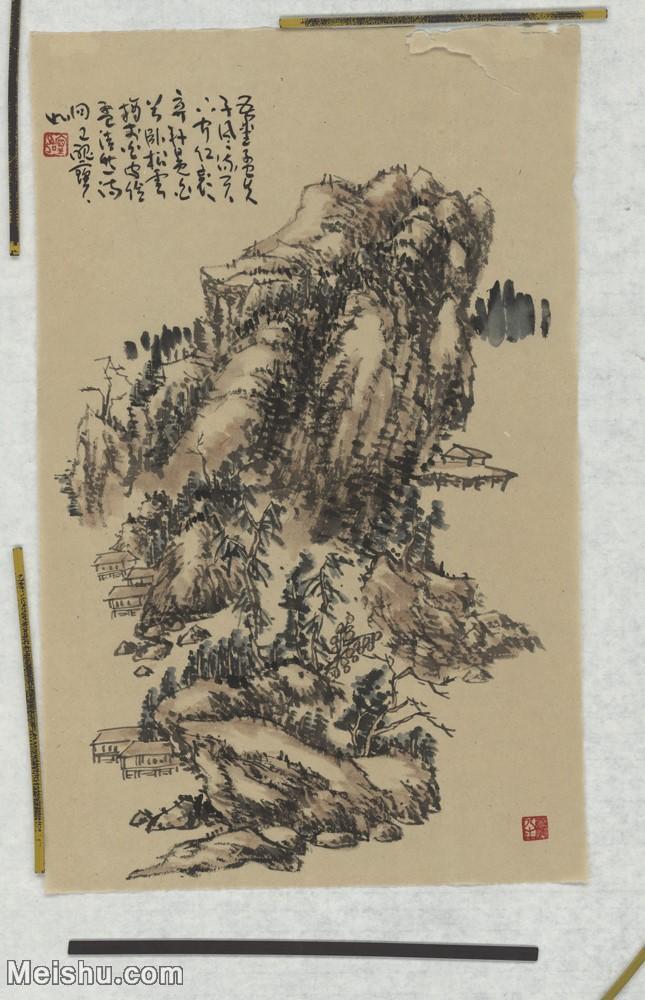 二玄社【超顶级】GH6040166古画立轴山居图山水风景图片-575M-17664X11392.jpg