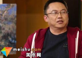 「工艺美术」大漠胡杨之美 油画家王文军-围庐艺话