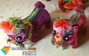 「民俗美术」布老虎-中华绝技