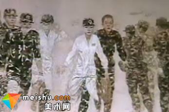 王元友作品十一届美展电视台新闻报道
