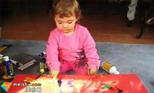 世界最年轻职业画家 澳洲5岁女童已赚进数百万