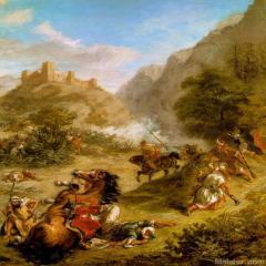 欧仁・德拉克罗瓦Eugène Delacroix