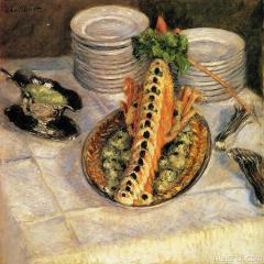 古斯塔夫·卡勒波特Gustave Caillebotte(1)