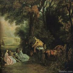 杰. 安东尼.华托Jean-Antoine Watteau