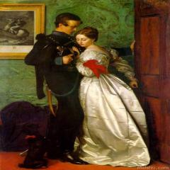 约翰·埃弗里特.米莱斯John Everett Millais(1)
