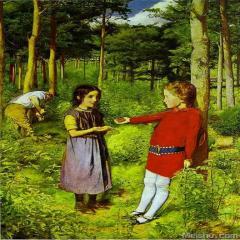 约翰·埃弗里特.米莱斯John Everett Millais