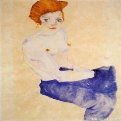 埃贡·希勒(9)Egon Schiele
