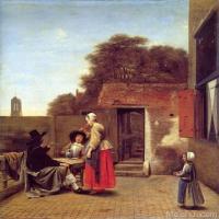 彼得·德·霍赫Pieter de Hooch