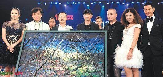 冯小刚油画引争议:作品《一念》拍出1700万?