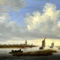 所罗门.范.雷斯达尔Salomon van Ruysdael