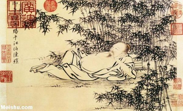 明朝这皇帝,30岁前后画的国画可与宋徽宗争高下