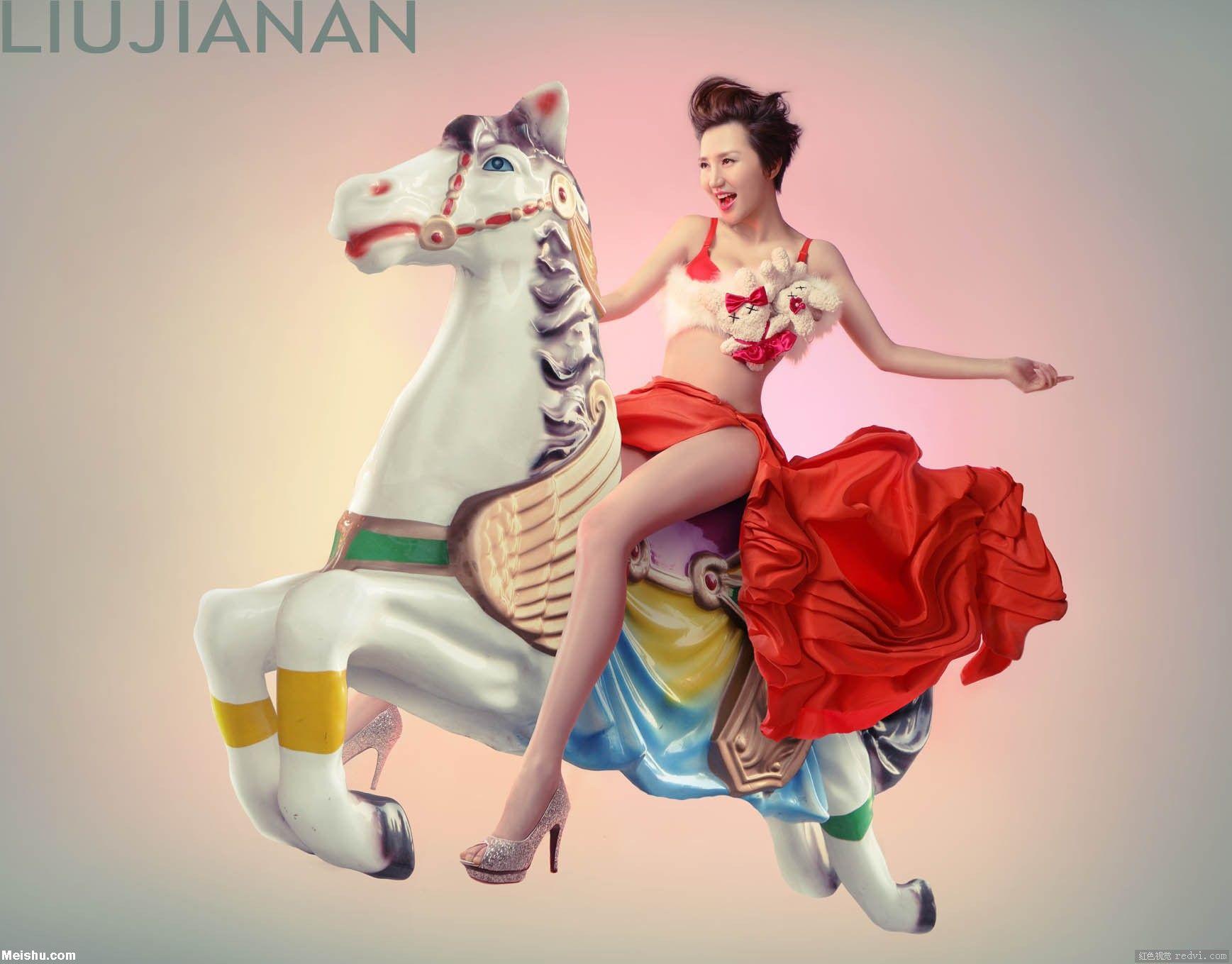 刘嘉楠时尚摄影:迷失的宝藏