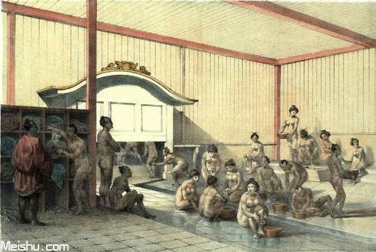 解密日本尚裸文化(插图浮世绘)